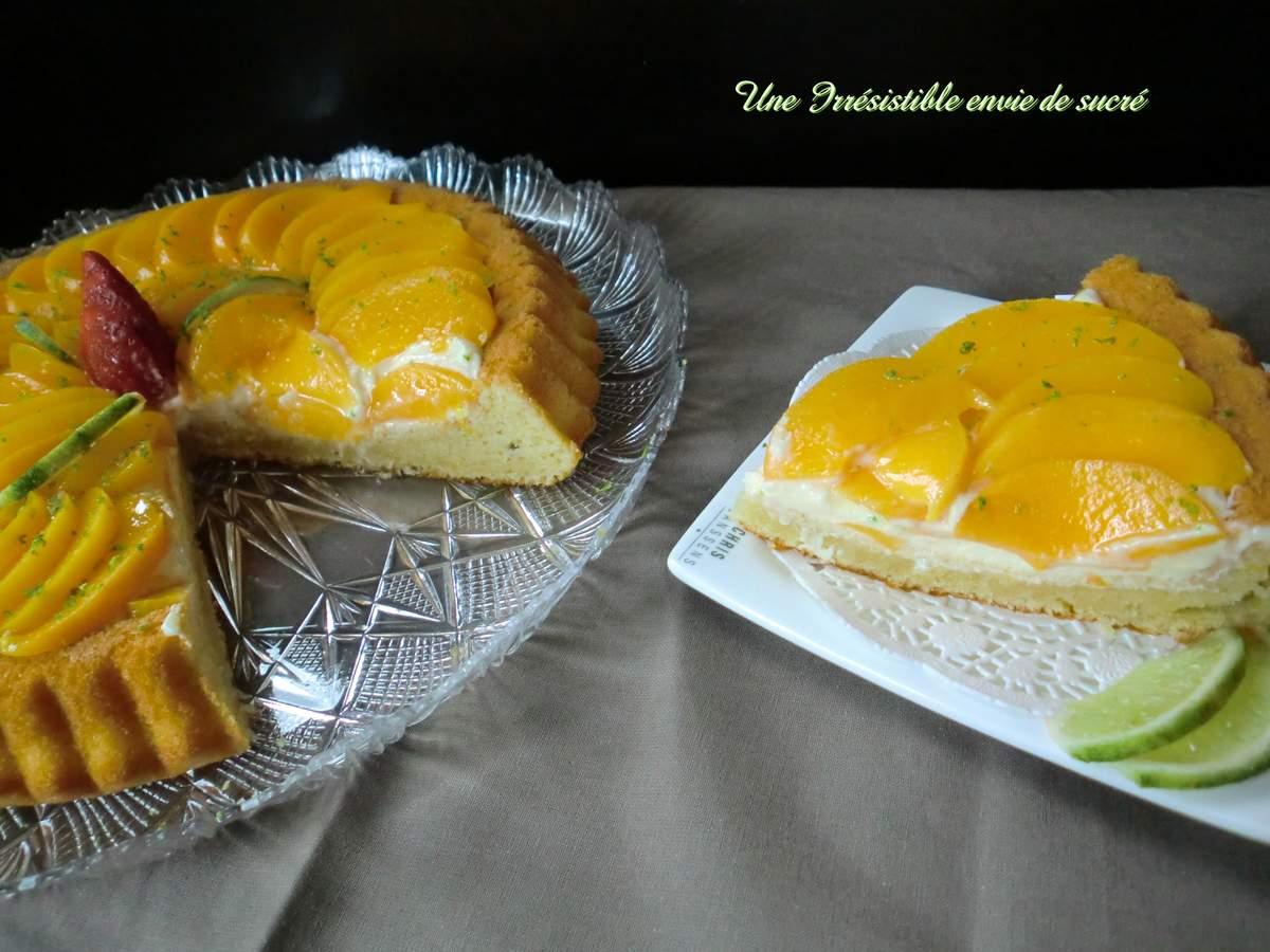 Tarte Renversée Citron Pêches