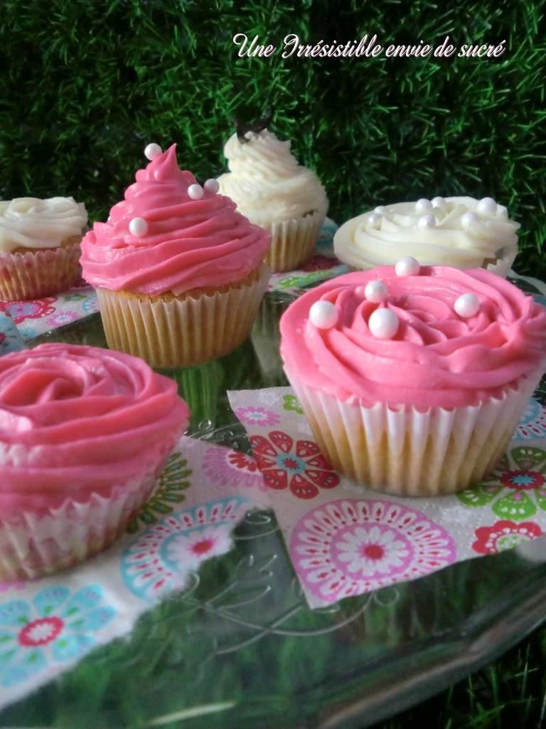 Cupcakes Vanillés