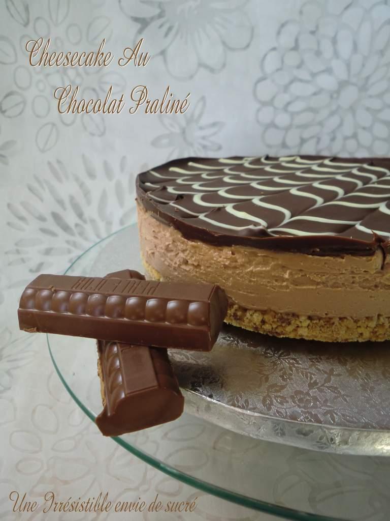 Cheesecake Au Chocolat Praliné