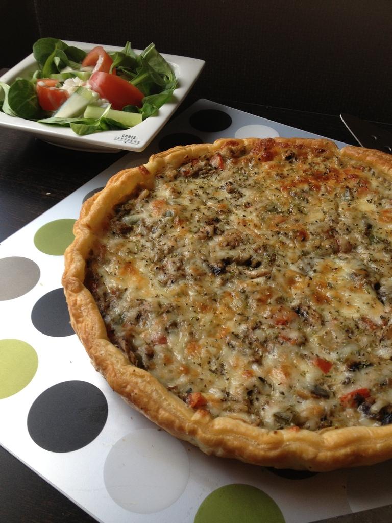 Quiche Au Thon &amp&#x3B; Légumes