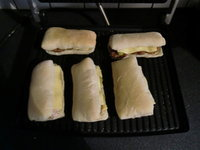Paninis à la viande hachée