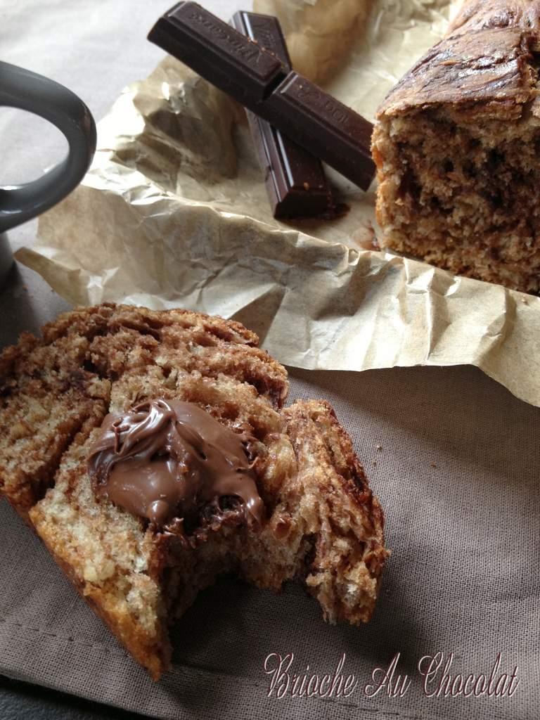Brioche Au Chocolat & Vanille