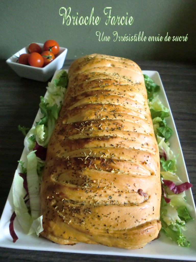 Brioche Farcie à La Viande Hachée & Légumes