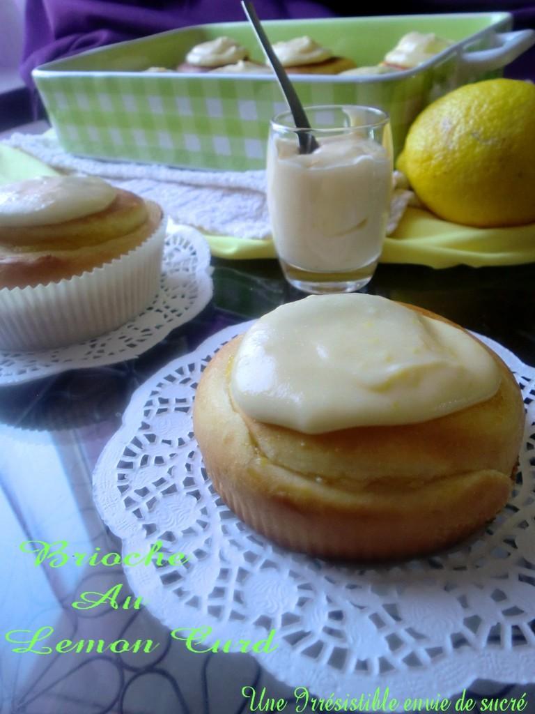 Brioche Au Lemon Curd