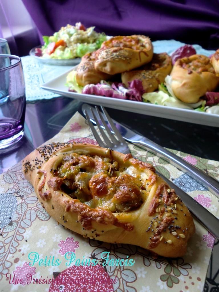 Petits Pains au Thon & Légumes