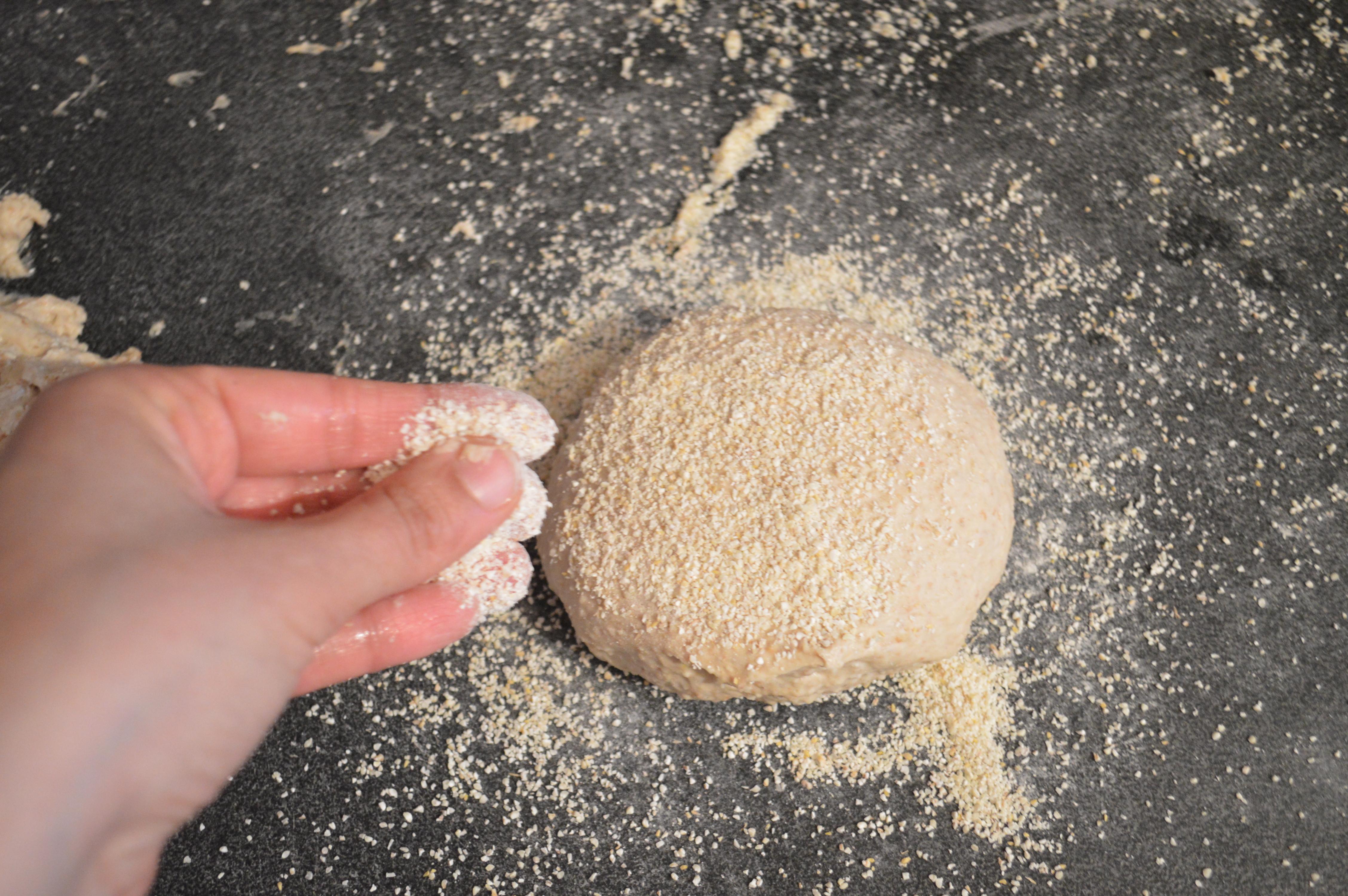 pain arabes a la semoule