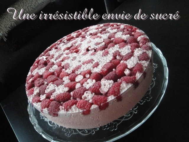 Cheesecake léger aux framboises