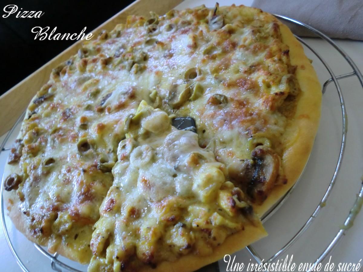 Pizza Blanche au Poulet