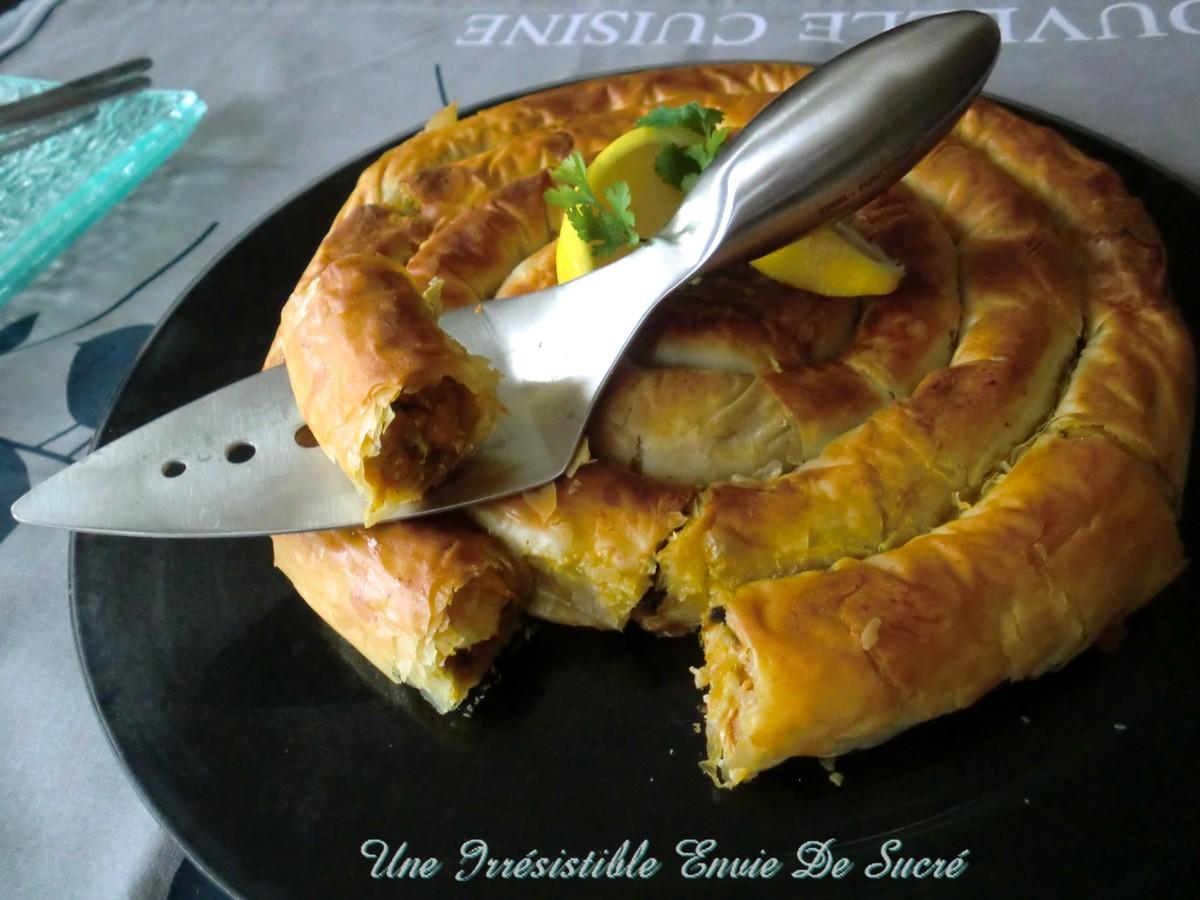 Mhancha Au Poulet et Légumes