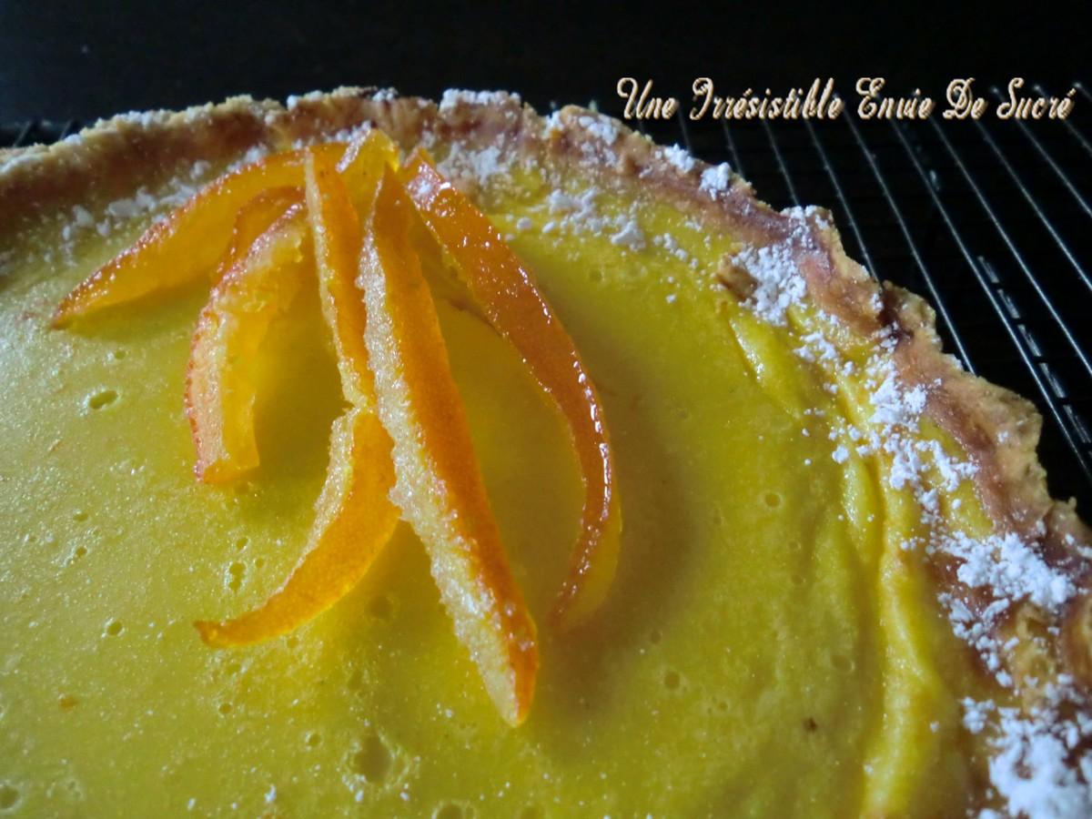 Tarte douce à l'orange
