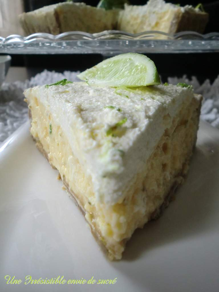 Key Lime Pie / Tarte Au Citron Vert