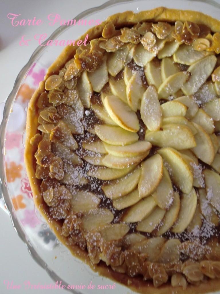 Tarte Aux Pommes & Caramel vanillé