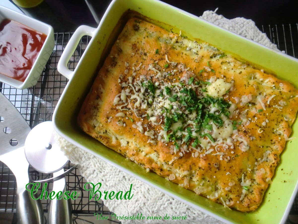 "Pain Au Fromage & Fines Herbes ""Cheese Bread"""